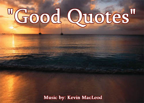 Good Quotes