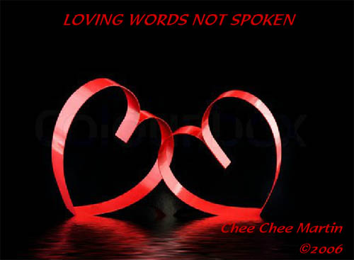 Loving Words Not Spoken
