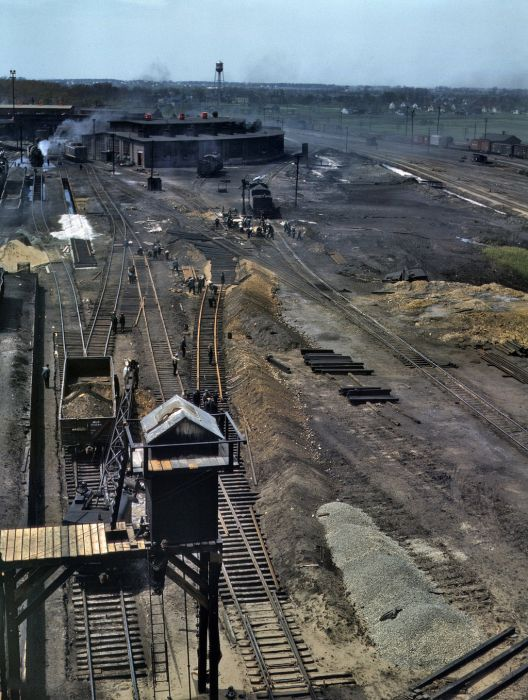 American Railroads In The 1940s 26 Pics Nethugs Com