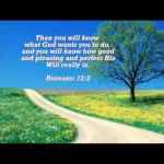 God's Will in Our Life