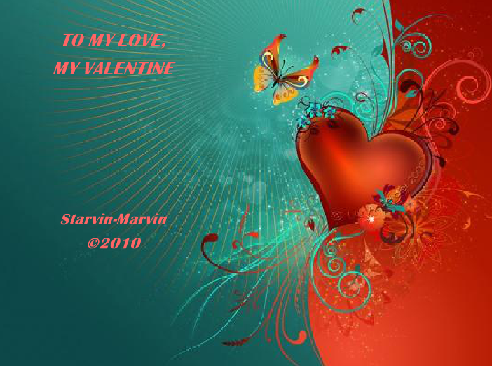 To My Love, My Valentine