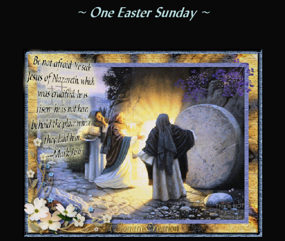 One Easter Sunday