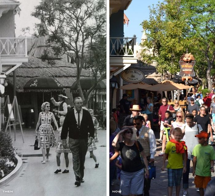 Disneyland Then And Now 145 Pics