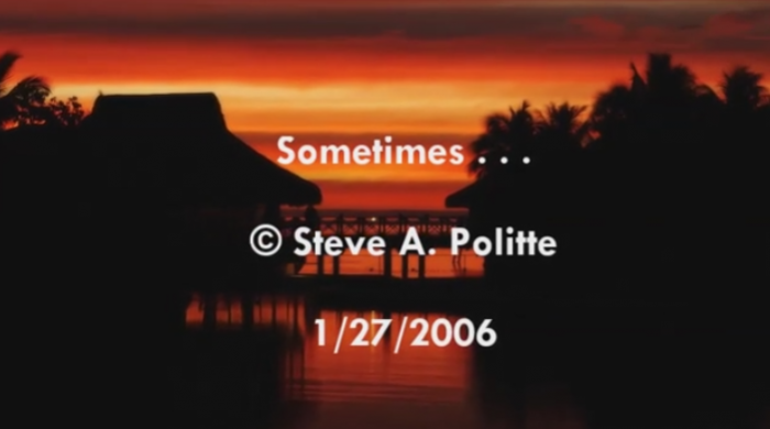 Sometimes 2