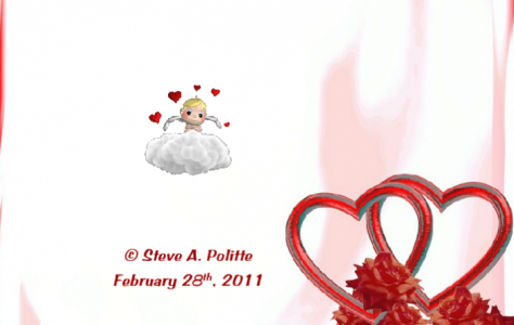 Two Valentine Hearts