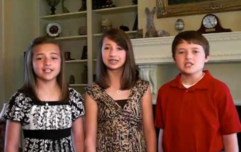 Amazing Sibling Trio Sing The Star Spangled Banner