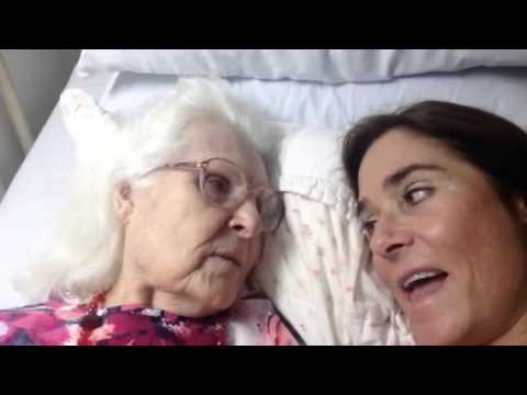 Daughter Reminds Mother with Alzheimer's