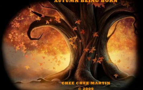 Autumn Being Born   NetHugs.com