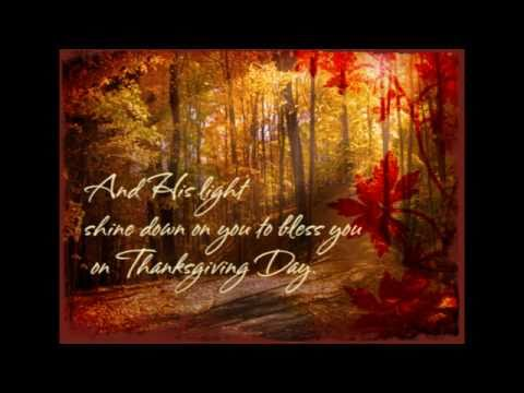 A Thanksgiving Prayer 2