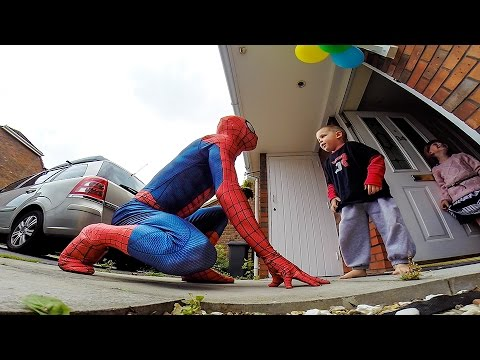 The Amazing SpiderDad – 5yr Old Son Battling Cancer Gets Surprise