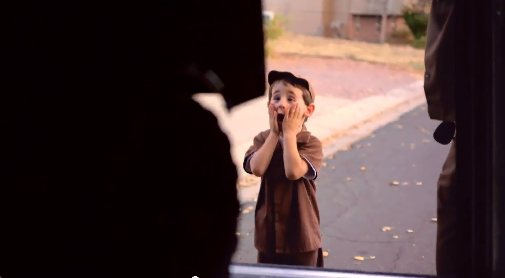 4-Year-Old UPS Driver