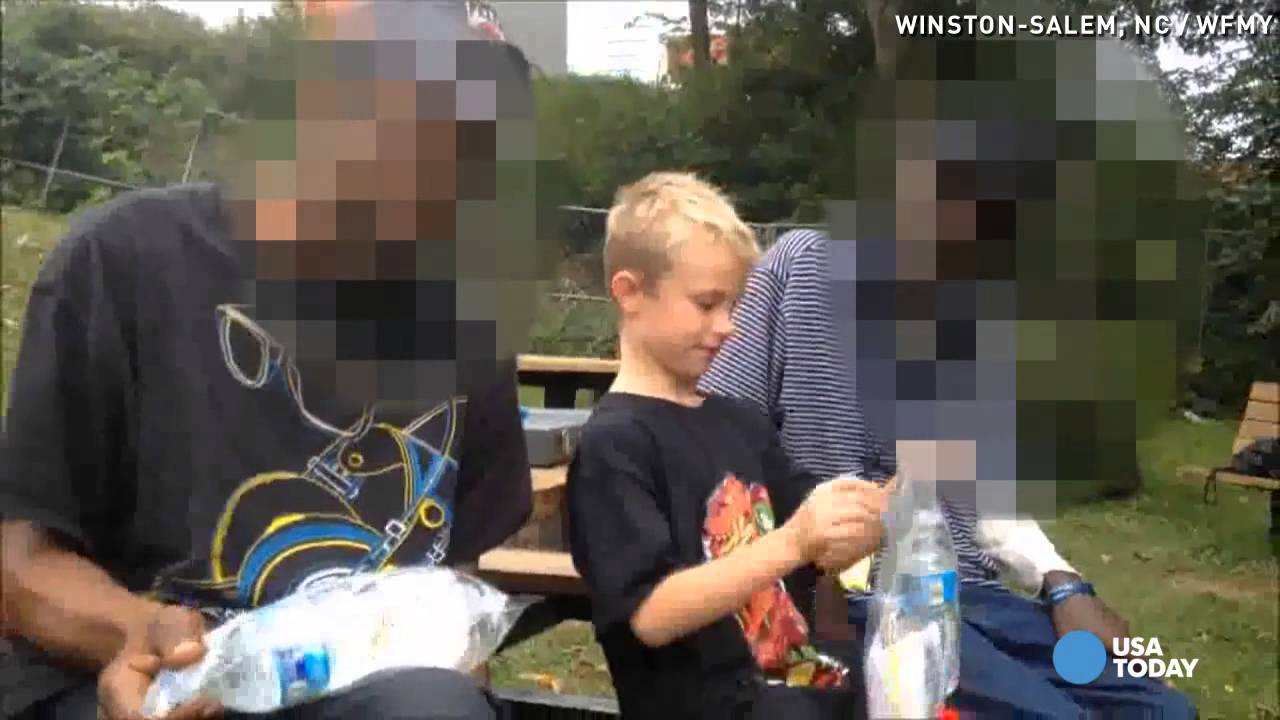 7-Year-Old Gives Blessing Bags to Homeless