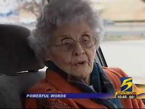 92-Year-Old Woman Brings Would-Be Robber to Tears