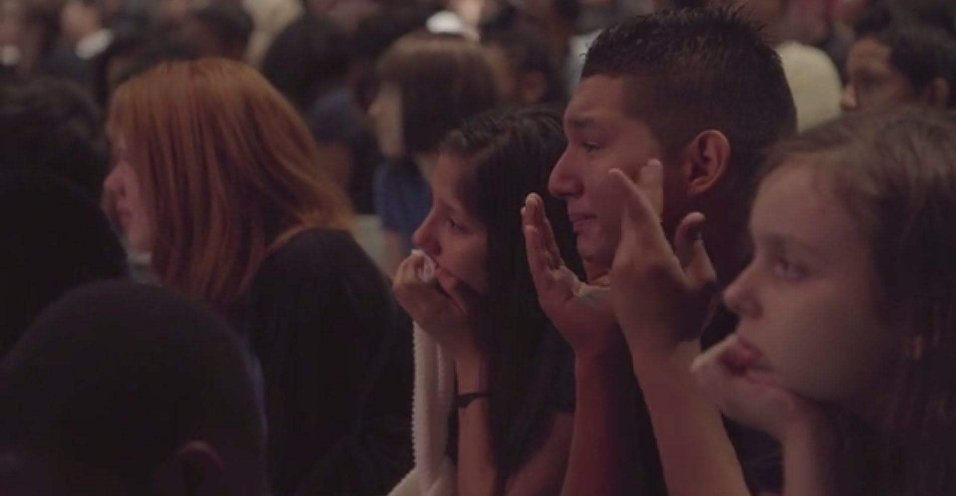 A Man's Message Brought a Middle School Class to Tears