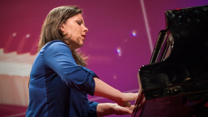 Why One Woman Takes Her Piano on the Road… And in the Air!