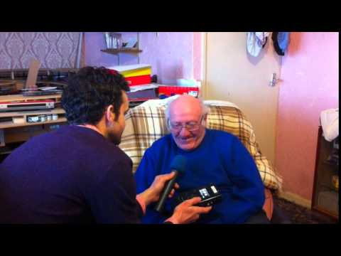Elderly Man Brought to Tears after Hearing Wife's Voice Again