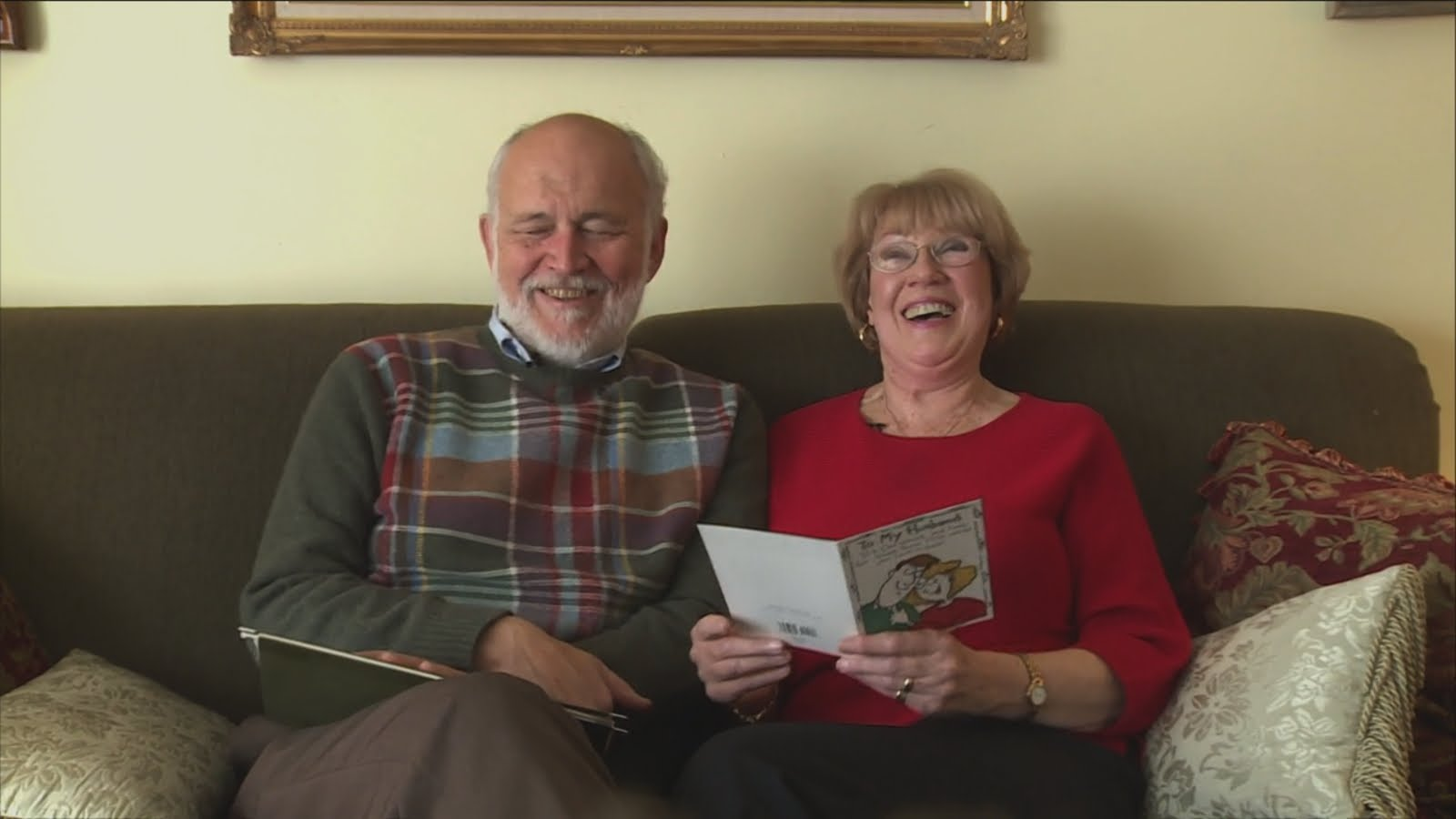 Husband Gives Over 10,000 Love Letters to Loving Wife