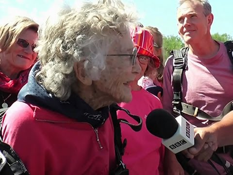 100th Birthday Skydiving Celebration
