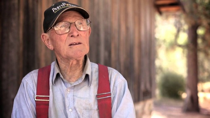 93-Year-Old Living in the Wilderness