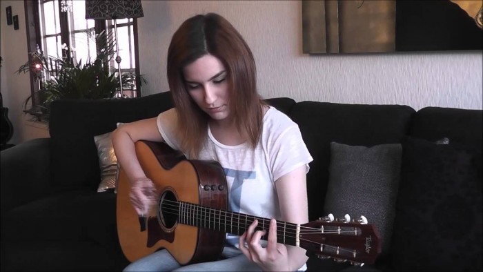 """Beautiful Fingerstyle Guitar Cover Of """"Hotel California"""""""