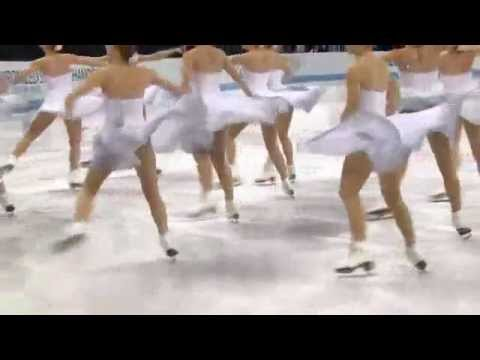 Russian Synchronized Skating Team Wows the Audience