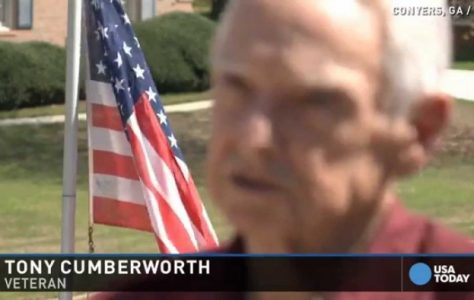 Veteran Told He Can't Fly American Flag in Yard