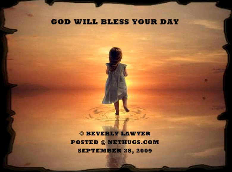 God Will Bless Your Day Nethugscom