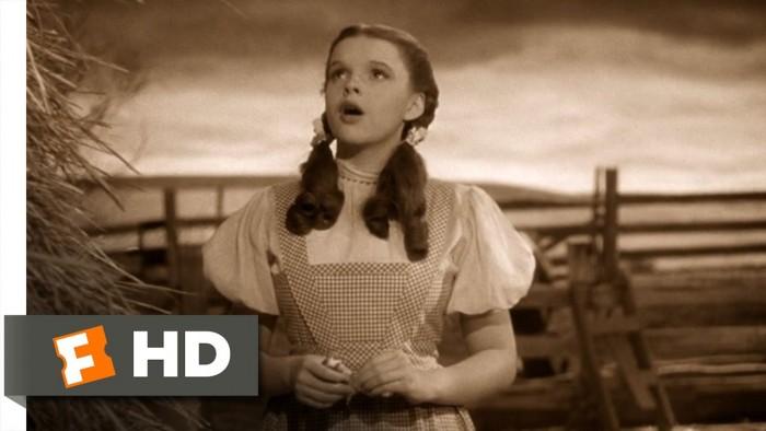 Somewhere over the Rainbow – Judy Garland