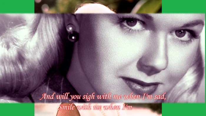 If I Give My Heart To You – Doris Day