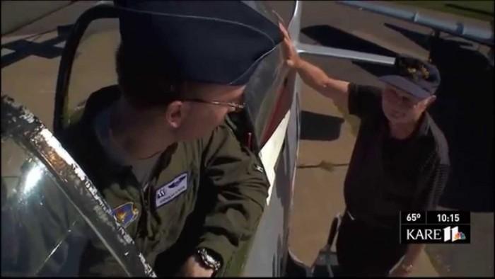 WWII Fighter Pilot & Grandson