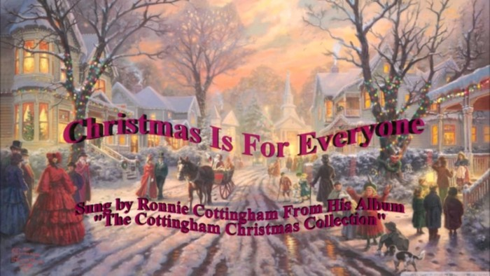 Christmas Is For Everyone – Ronnie Cottingham
