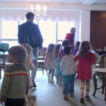 A Preschool Housed Completely Within a Retirement Home