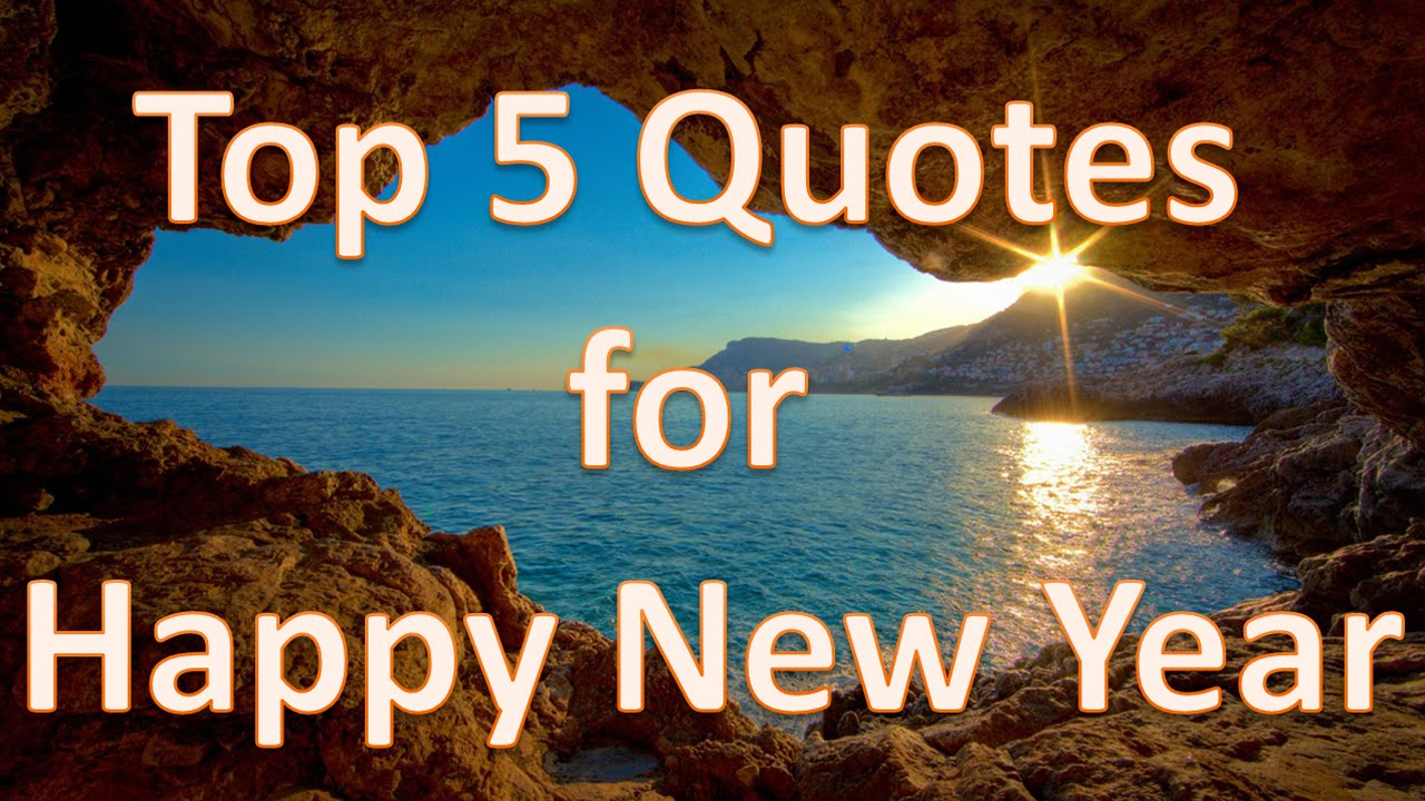 Top 5 New Year Quotes – NetHugs.com