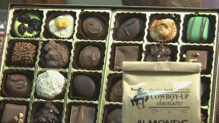 Cowboy Up Chocolates