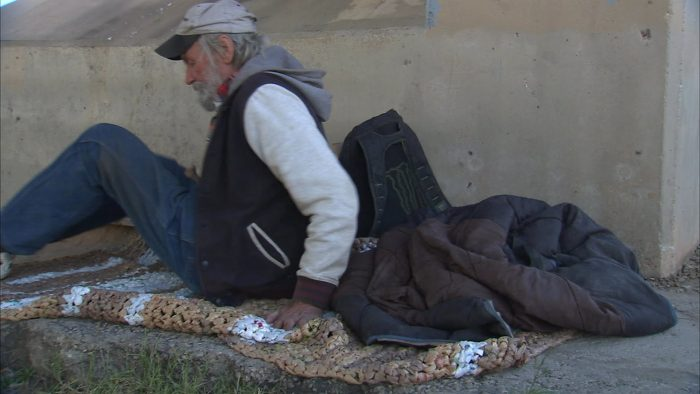 Plarn Mats for the Homeless