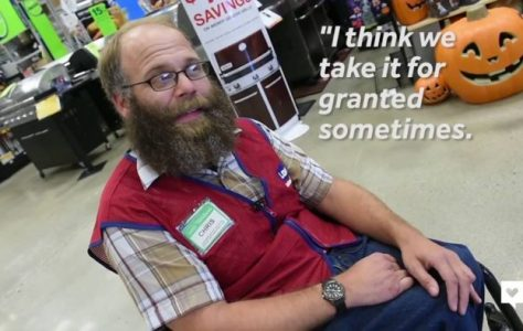 Lowe's Greeter with Big Smile Gets Bigger Surprise