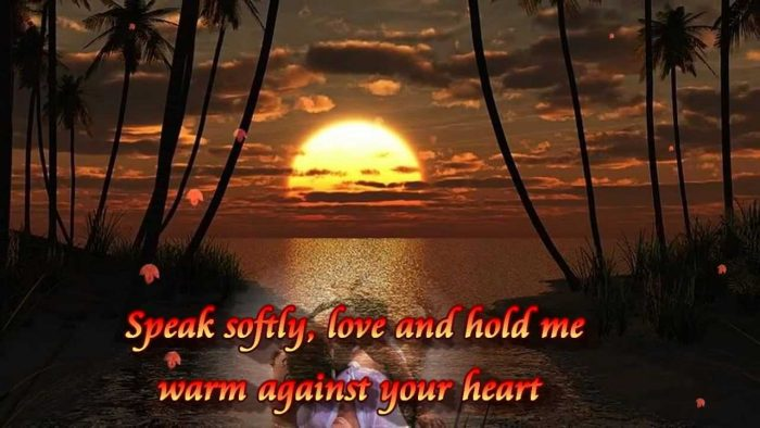 Speak Softly Love – Andy Williams