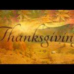Thanksgiving Poem by Ralph Waldo Emerson