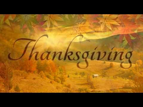 Thanksgiving Poem by Ralph Waldo Emerson