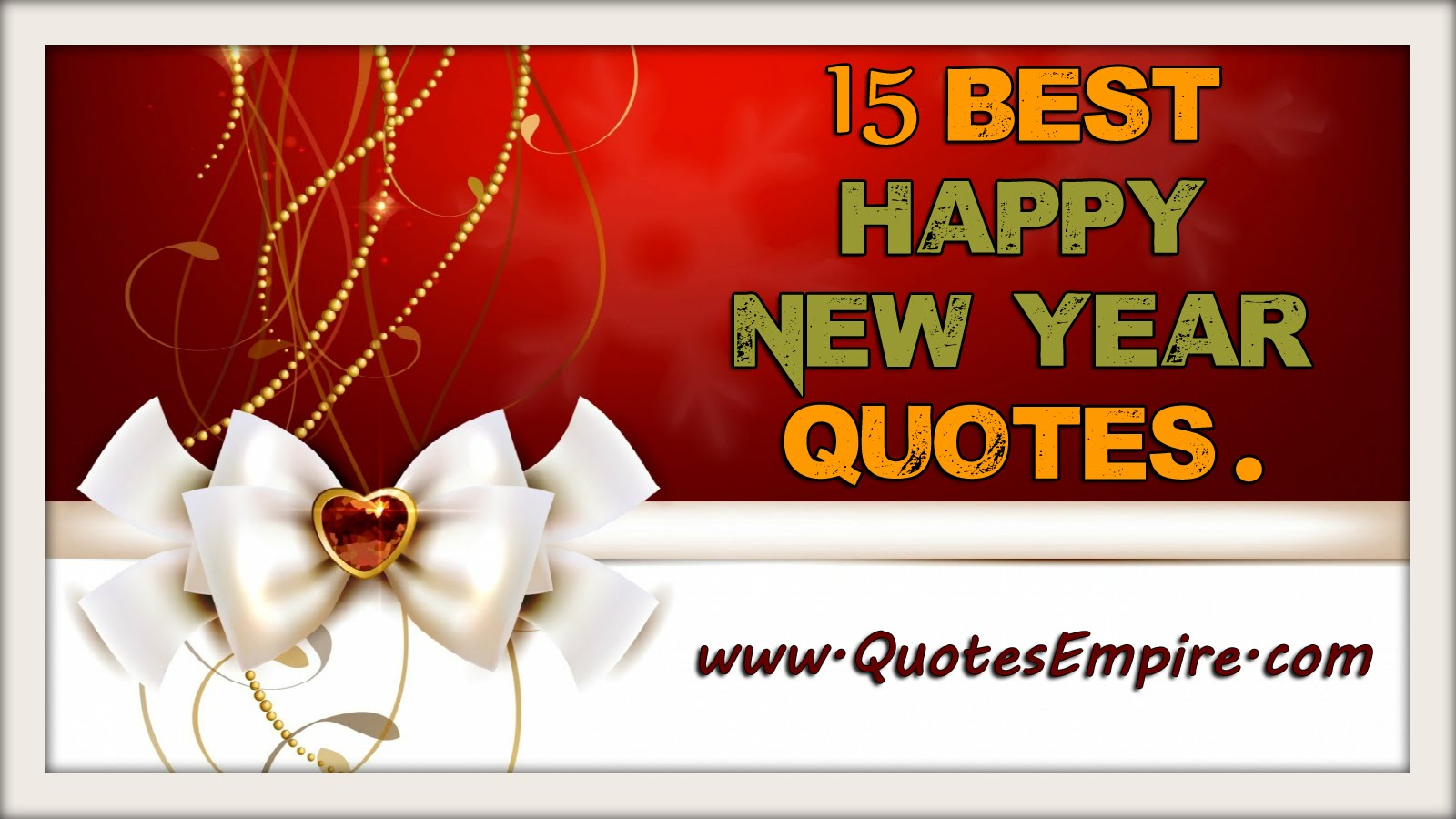 15 Most Beautiful Happy New Year Quotes – NetHugs.com