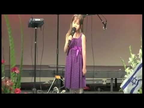 7 Year-Old Sings at Grandfather's Funeral