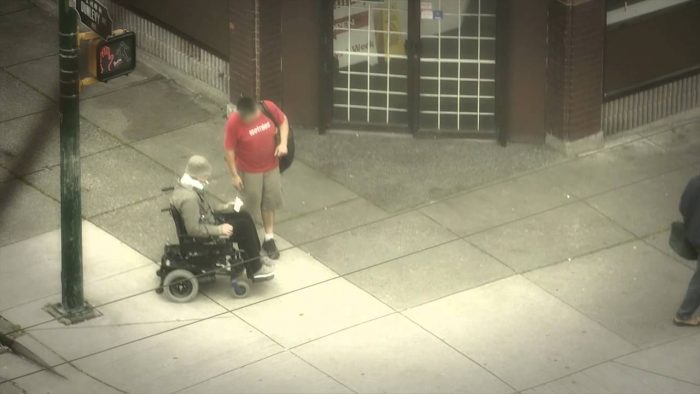 Police Wheelchair Undercover