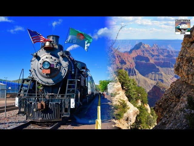 Grand Canyon Steam Train ADVENTURE!