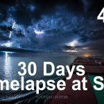 30-Day Timelapse from a Cargo Ship