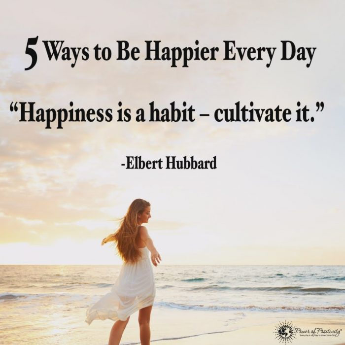 5 Ways to Be Happier Every Day