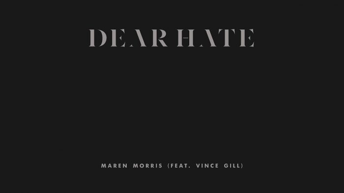 Dear Hate (feat. Vince Gill)
