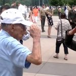 Grandfather to Granddaughter First Salute