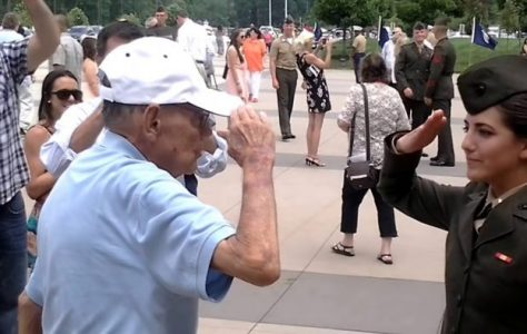Grandfather-to-Granddaughter-First-Salute