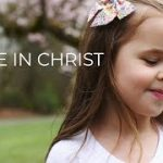 Peace in Christ – 5-year-old Claire Ryann Crosby and Dad