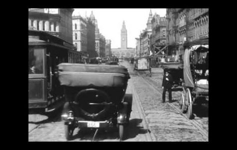 A Trip Down Market Street, San Francisco in 1906